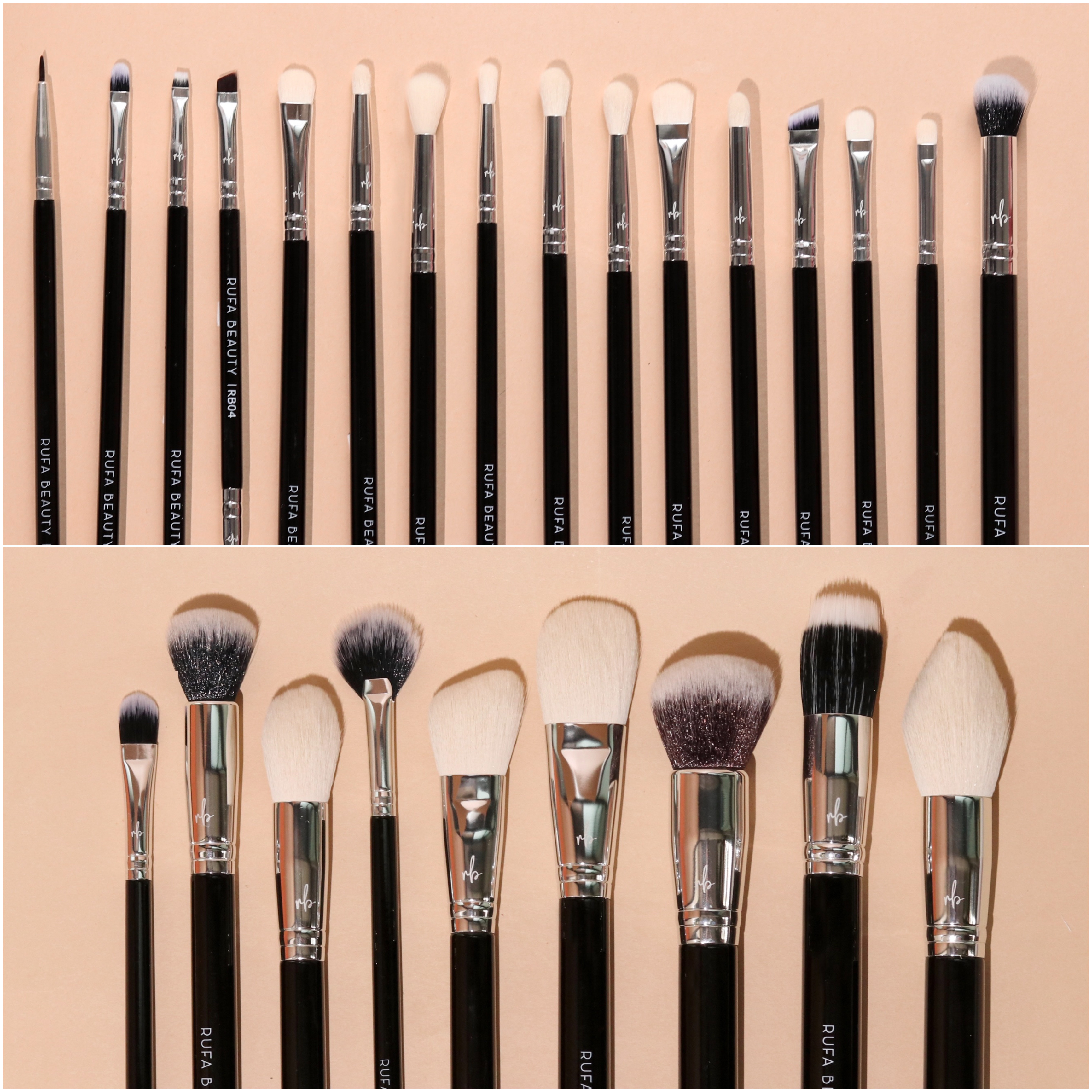 New Remastered Pro Brushes – Complete Set of 25 Professional makeup Brushes